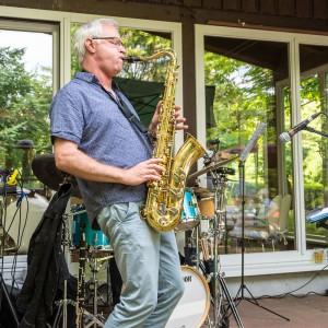 Uwe Friedrich am Saxofon.