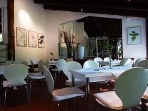Bilderausstellung im Café